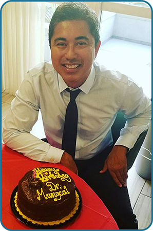 The birthday of our beloved Dr. Mungcal!