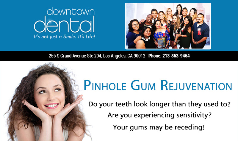 Pinhole Gum Rejuvenation. Do your teeth look longer than they used to? Are you experiencing sensitivity?