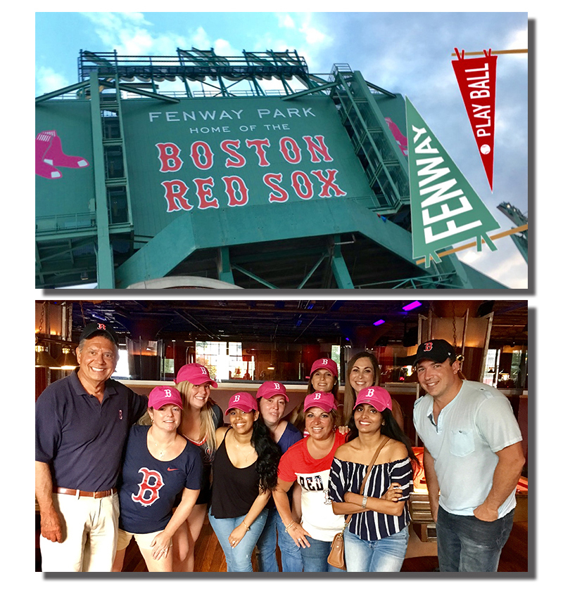 Our Red Sox Team Outing
