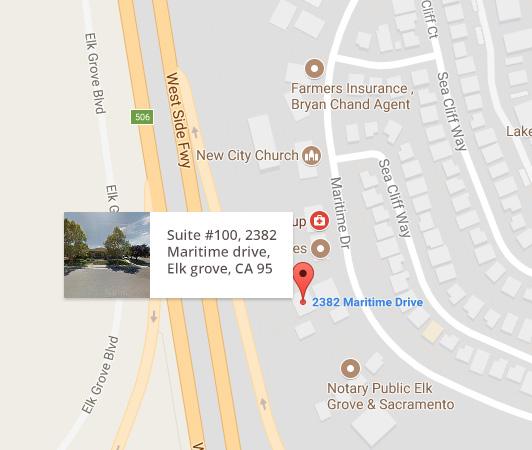 Map image ,Dermatologist Stockton