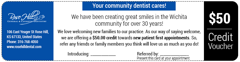 your community dentist cares