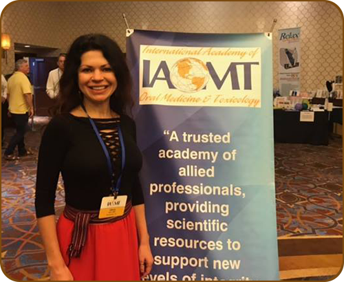 Dr. Hart at the IAOMT meeting in Las Vegas!