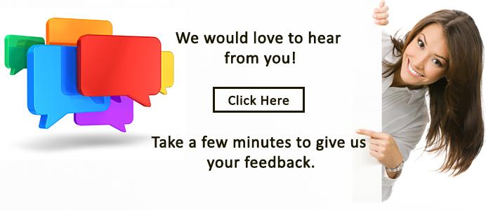 Give us your feedback